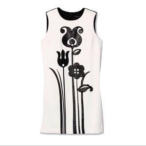 Victoria Beckham for Target black floral dress